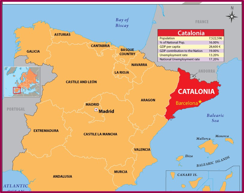 Michelin Spain Map 574