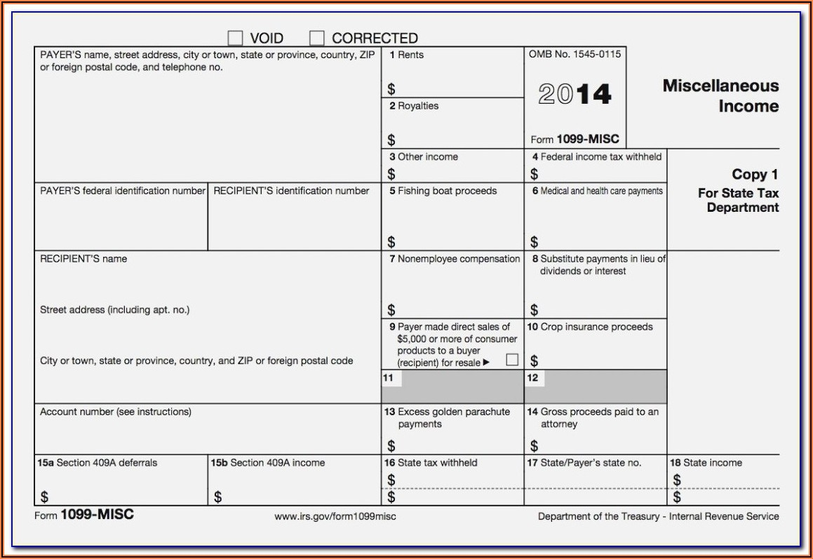 Michigan Form 1099 R