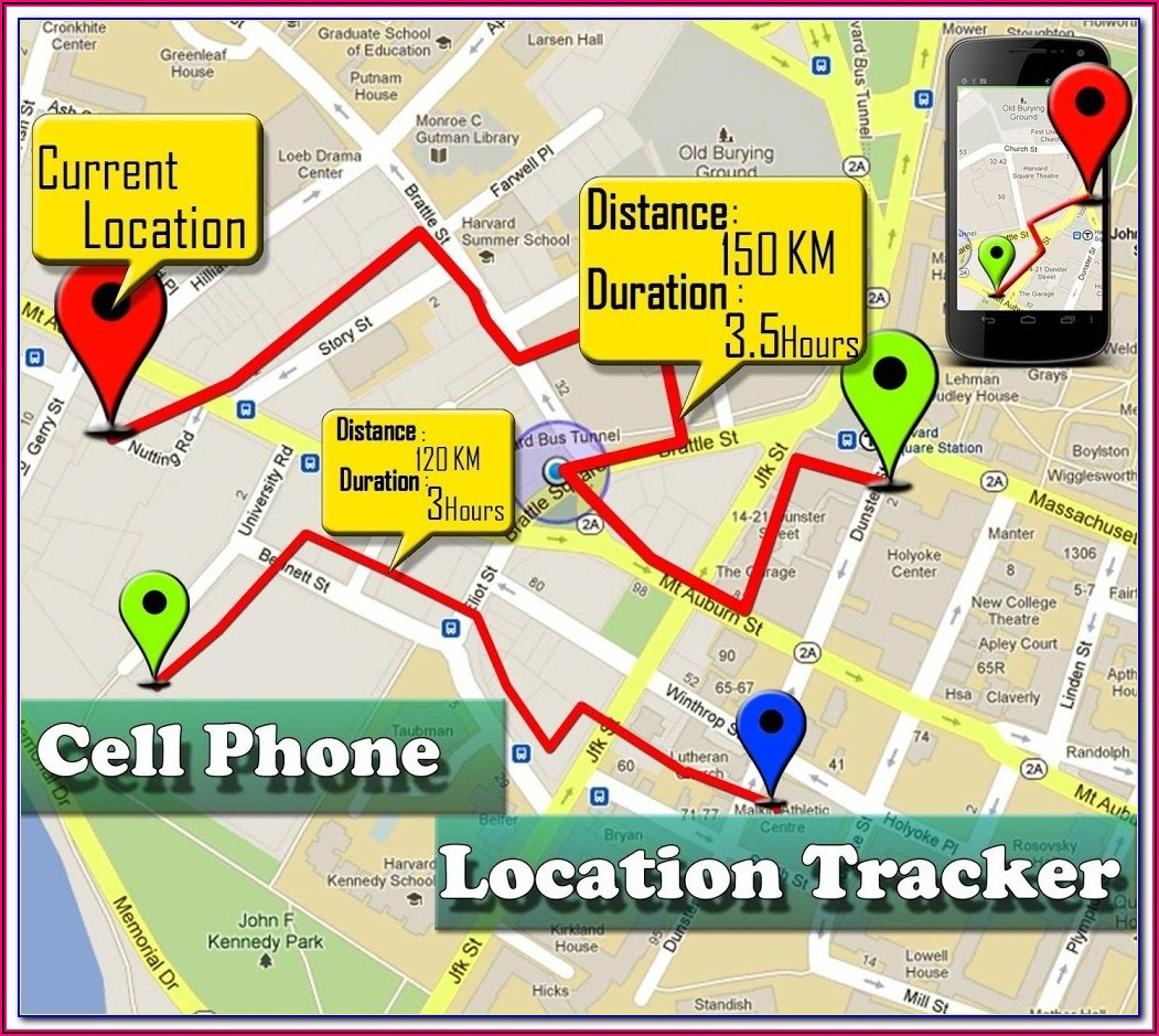 Mobile Phone Tracking Google Maps