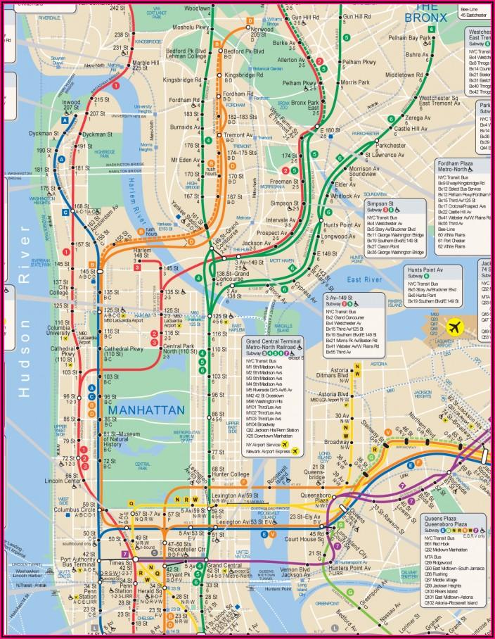 Mta Map New York Pdf