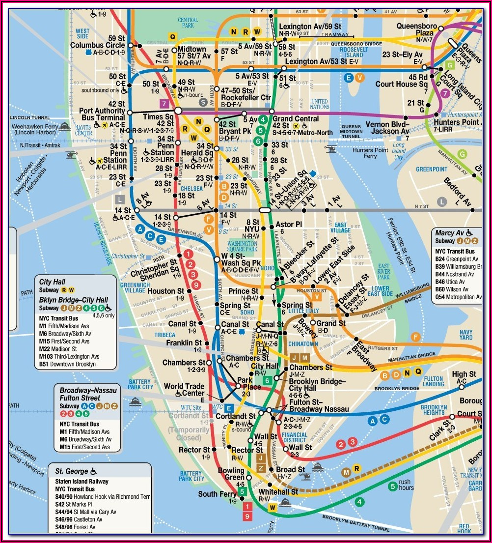 Mta Maps New York