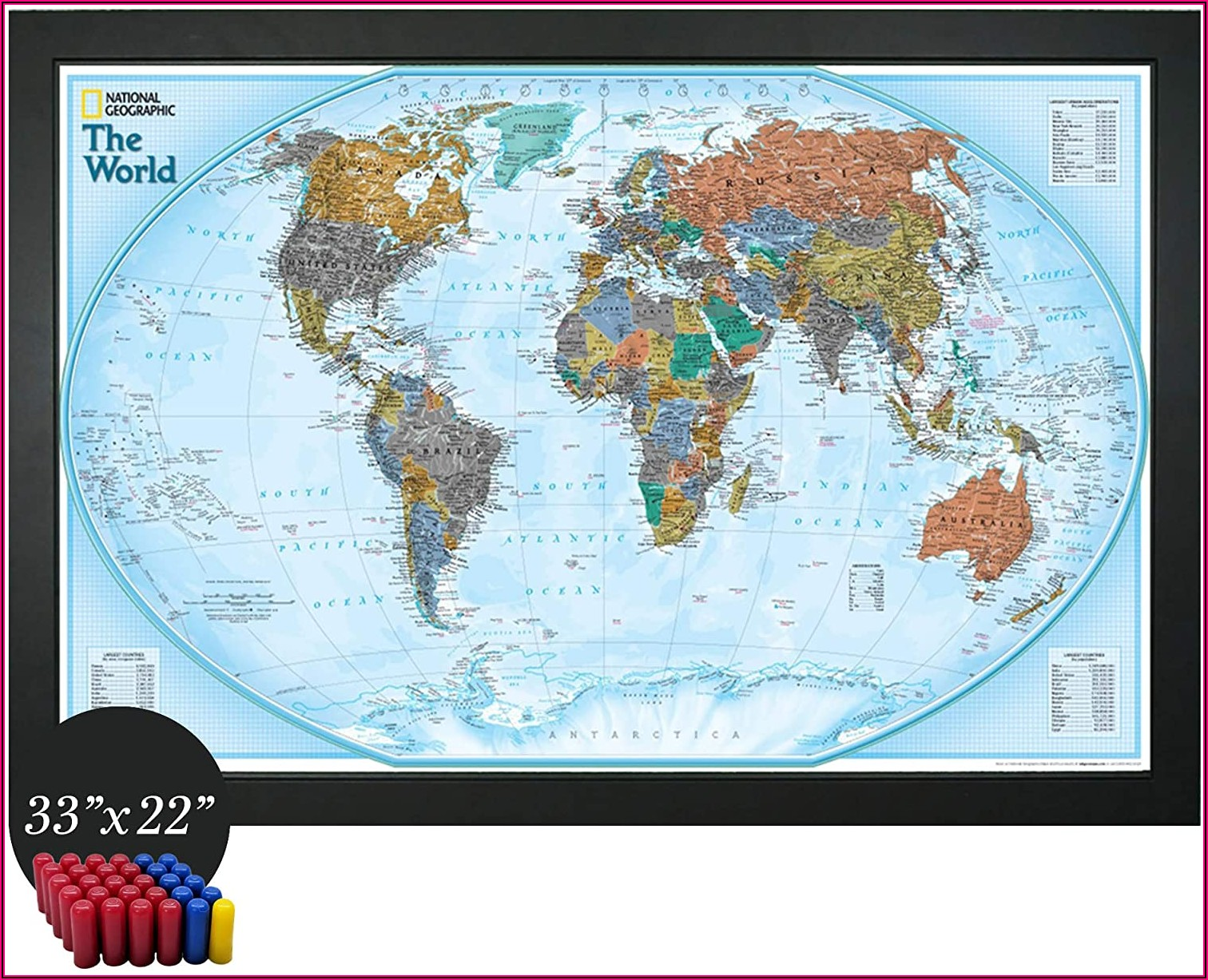 National Geographic Interactive Map Of The World