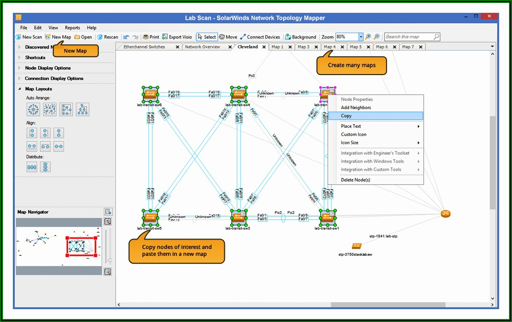 Network Topology Mapping