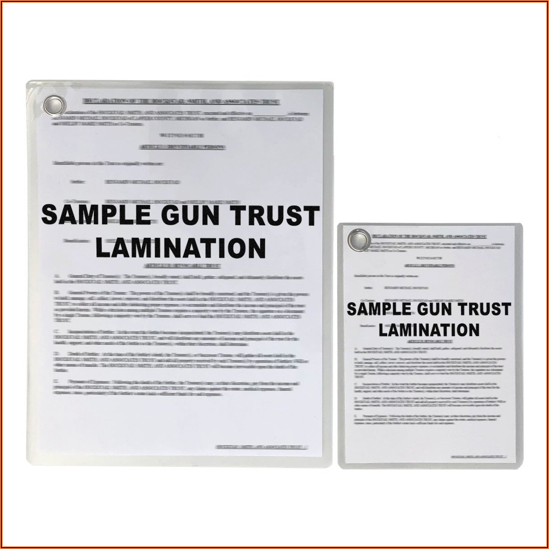 Nfa Trust Document