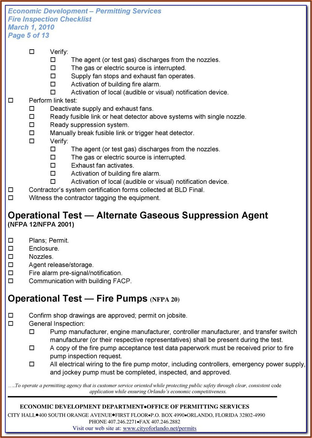 Nfpa 80 Fire Door Inspection Form