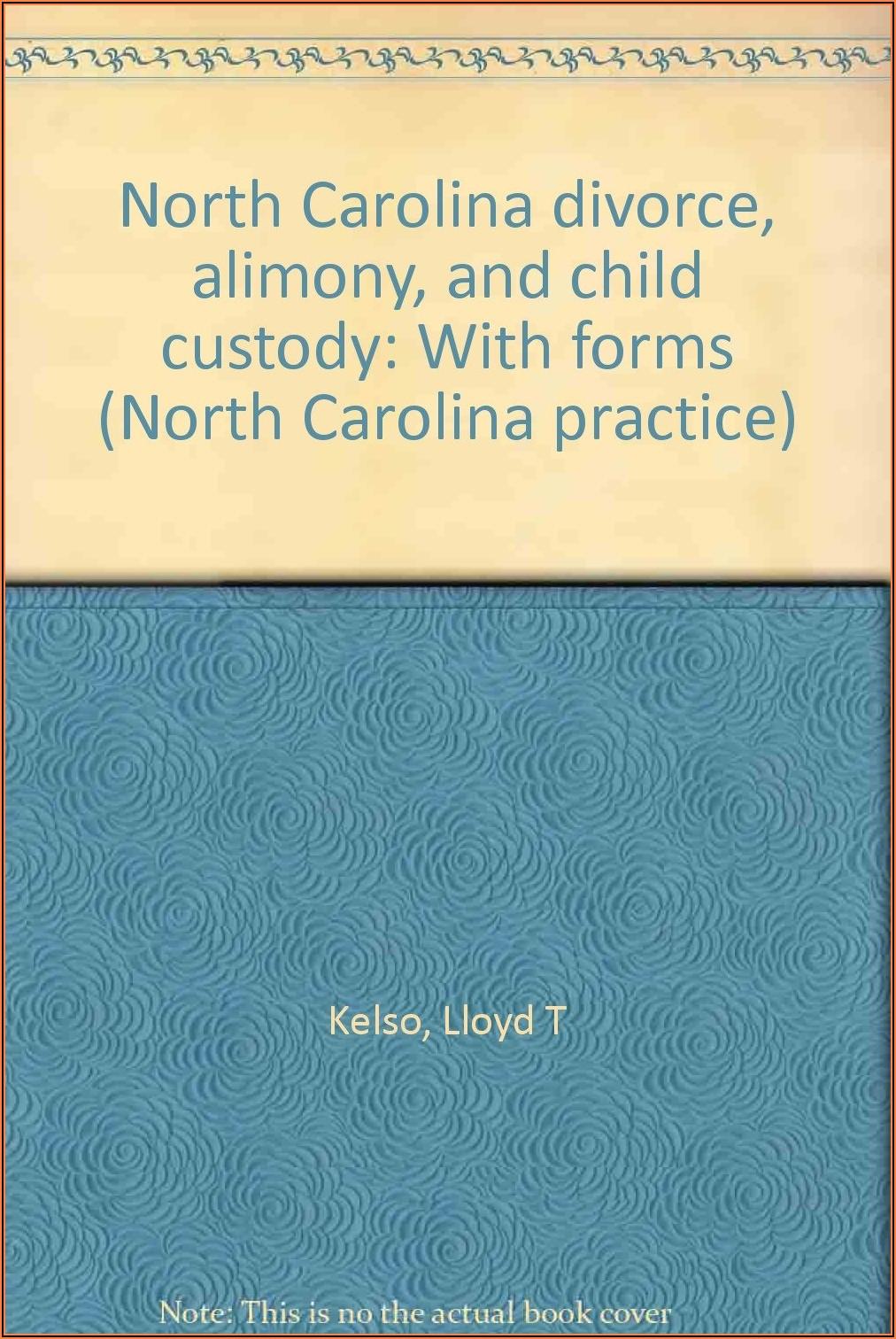 North Carolina Custody Forms