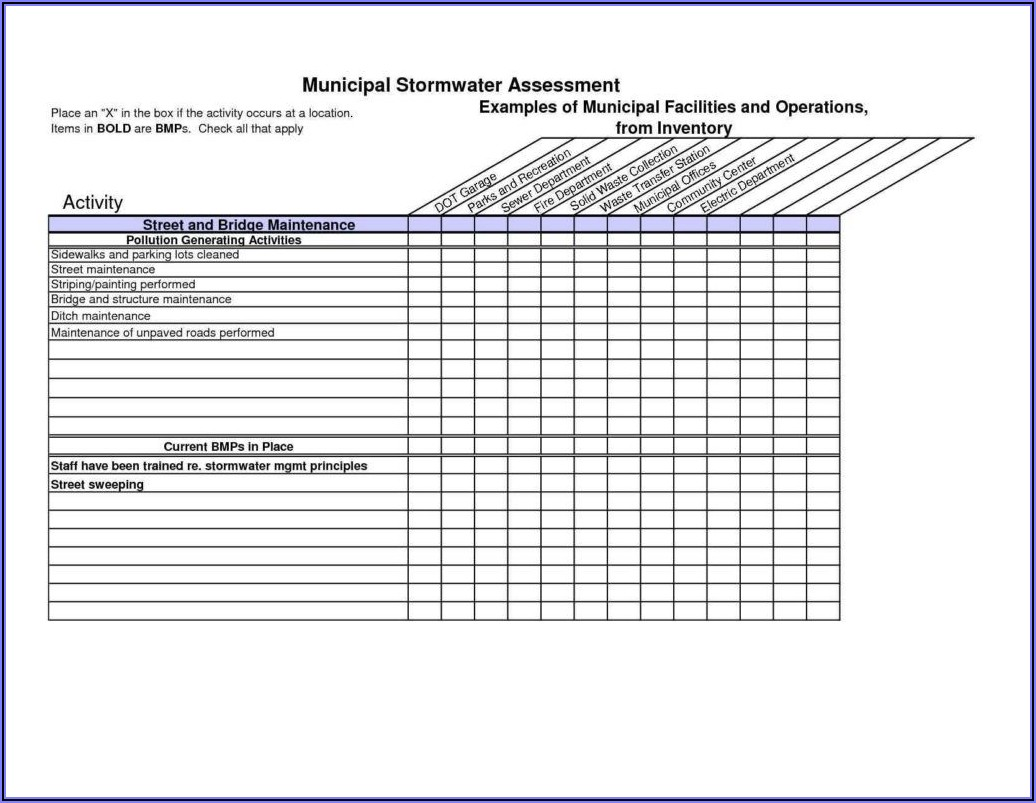 Office Equipment Inventory Template Excel