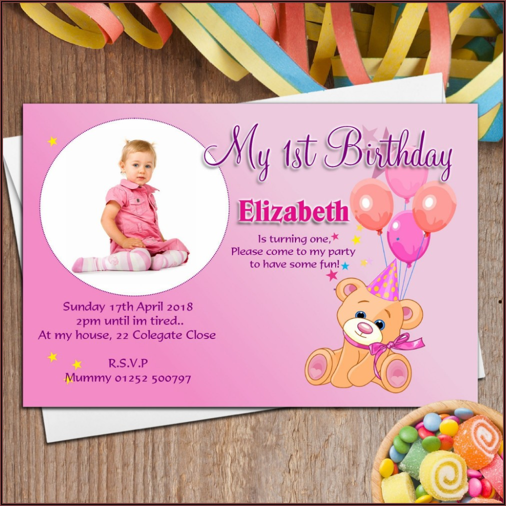 Online Birthday Invitation Maker Free