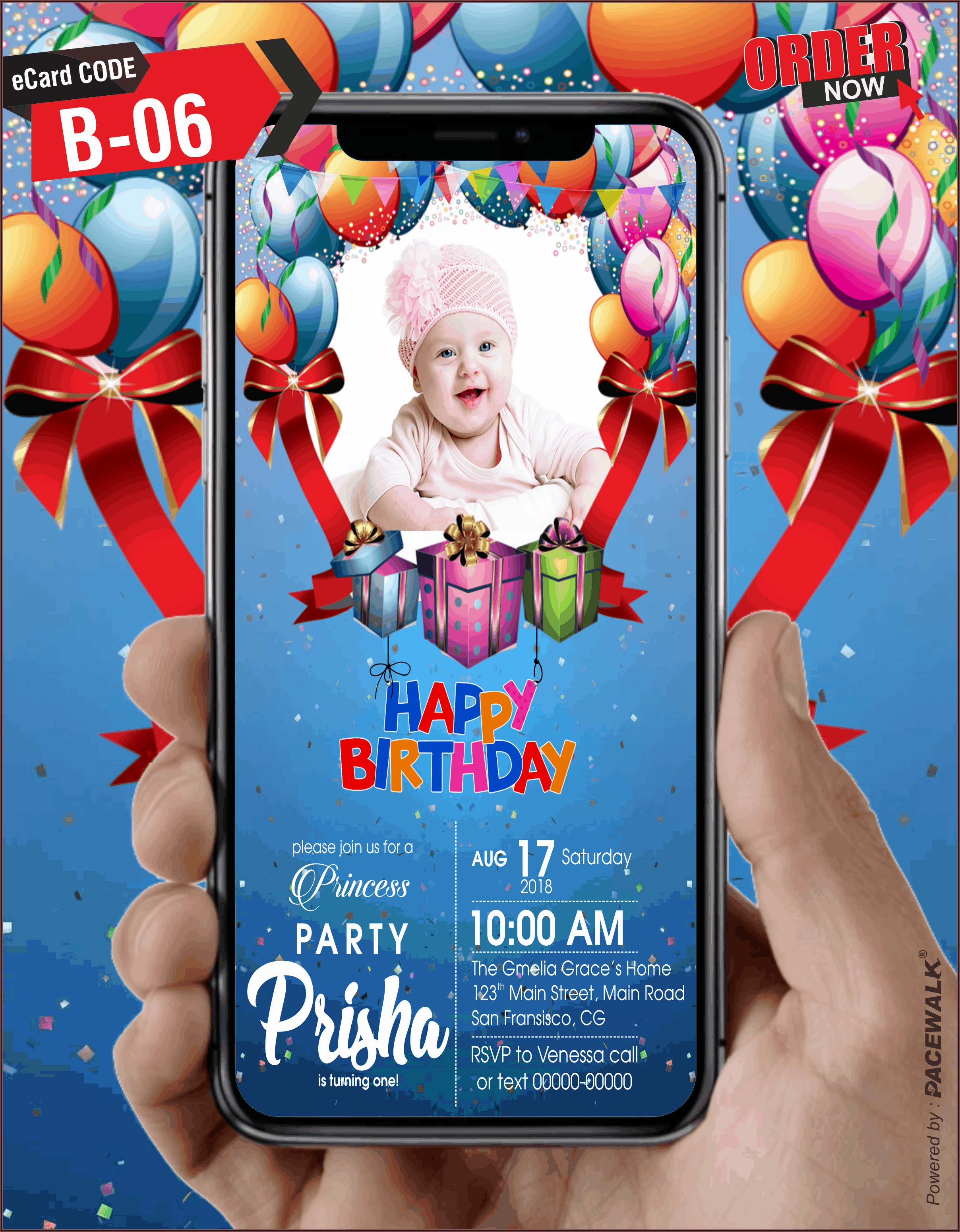 Online Birthday Invitation Maker
