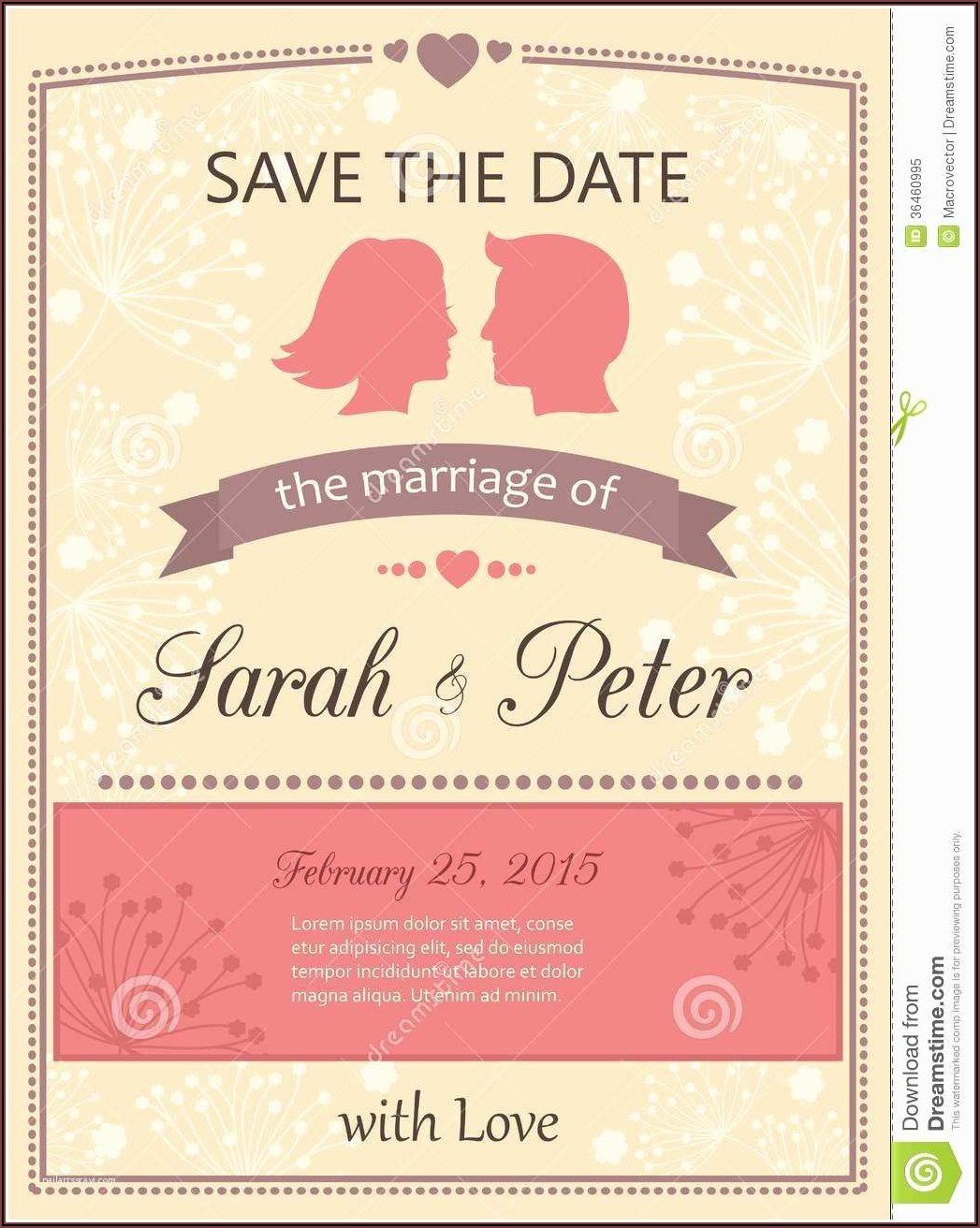Online Wedding Invitations Templates Free