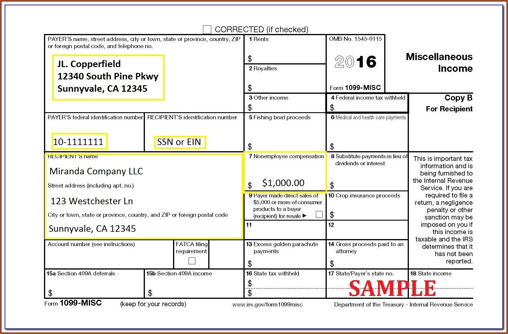 Order 1099 Forms From Irs By Mail