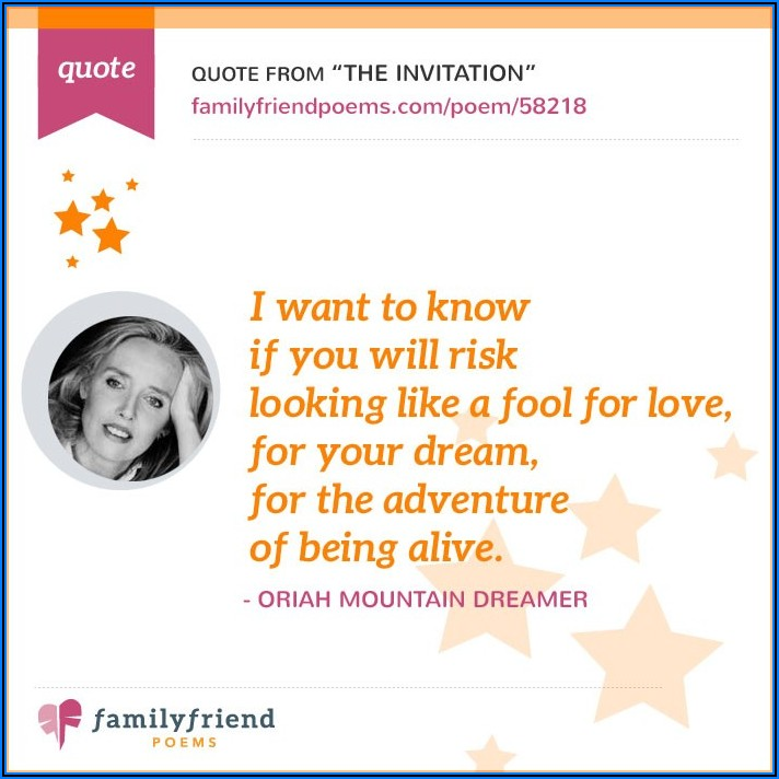 Oriah Mountain Dreamer L'invitation Pdf