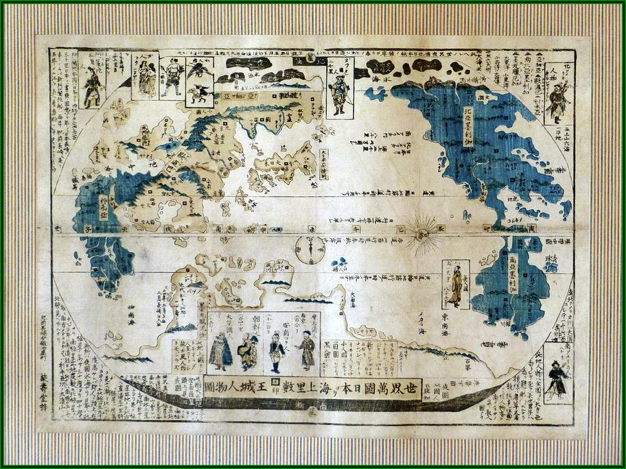 Original Antique Maps For Sale