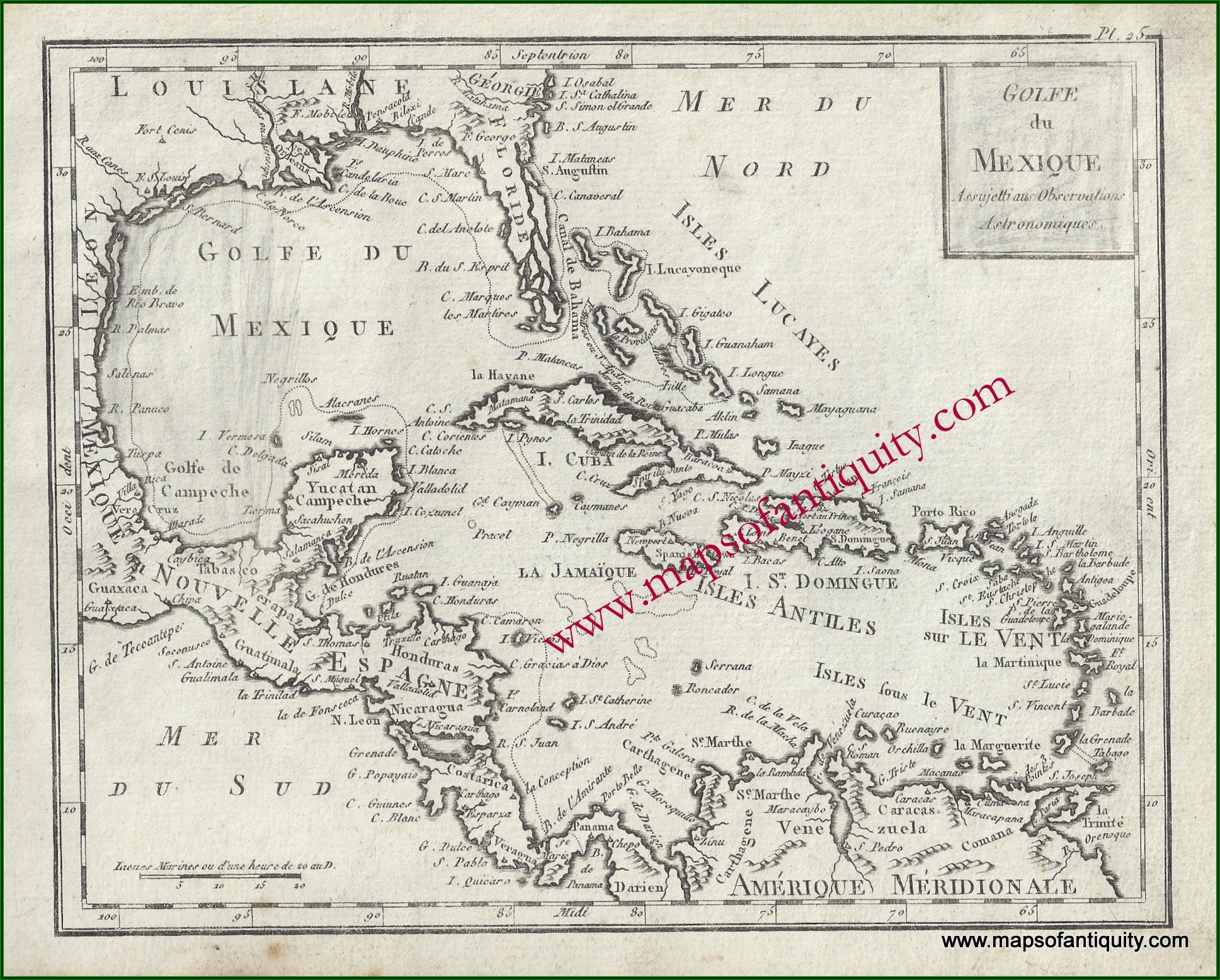 Original Antique Maps