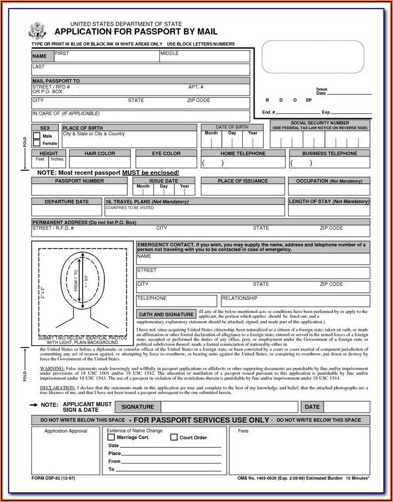 Passport Renew Application Form Bangladesh
