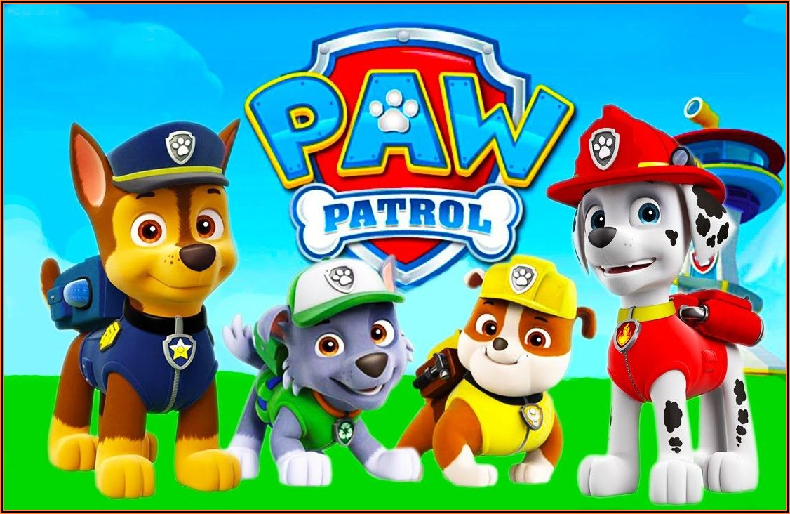Paw Patrol Birthday Invitations Walmart