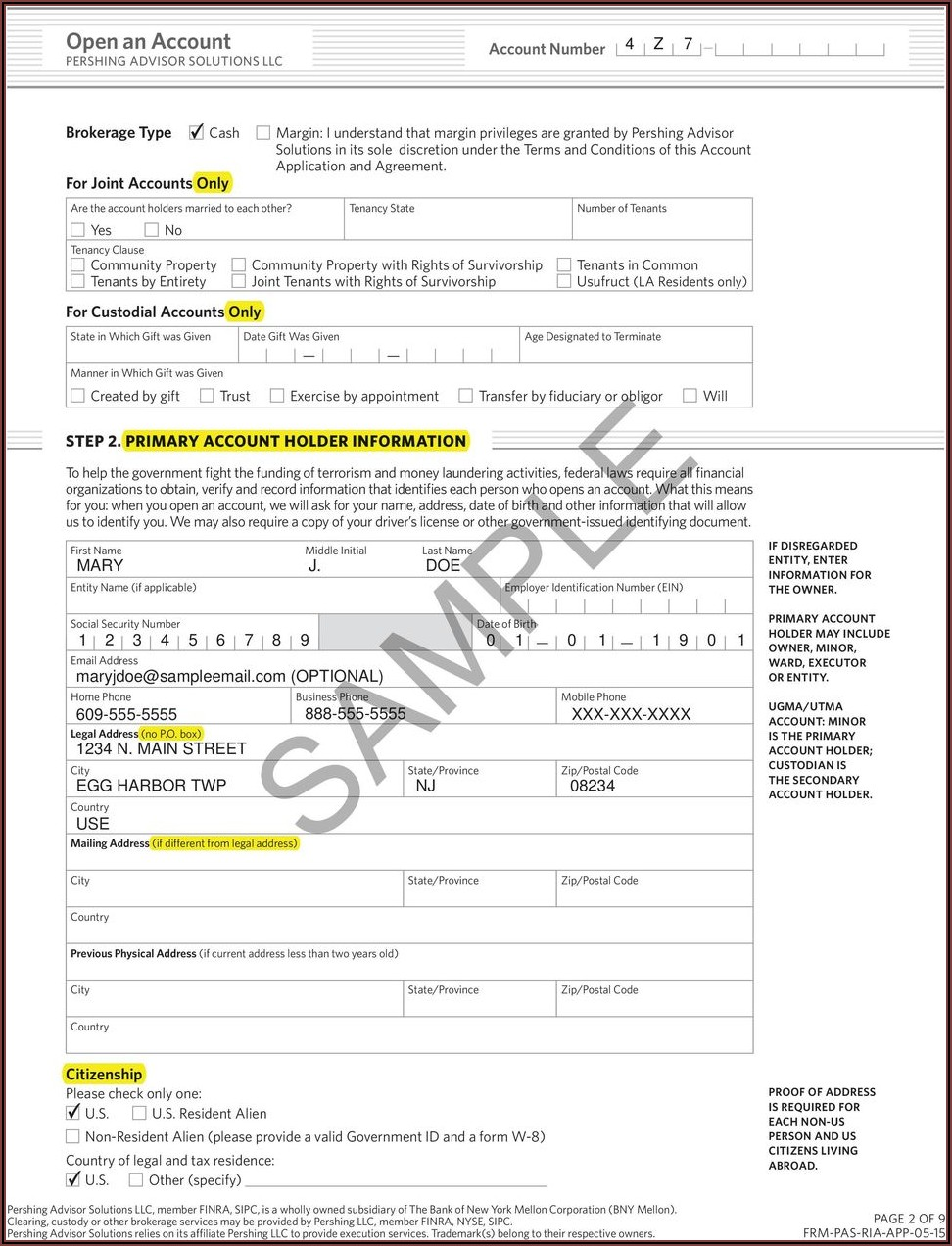 Pershing Ira Withdrawal Form