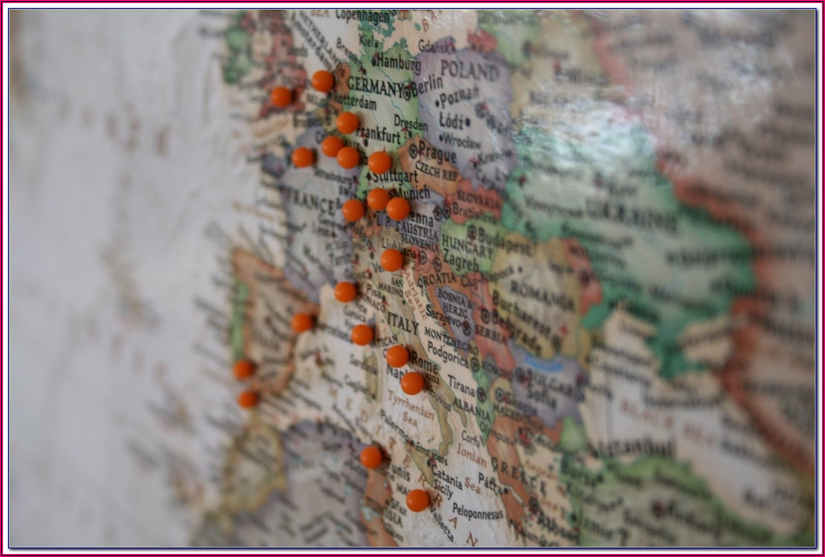 Pin Your Travel Map App