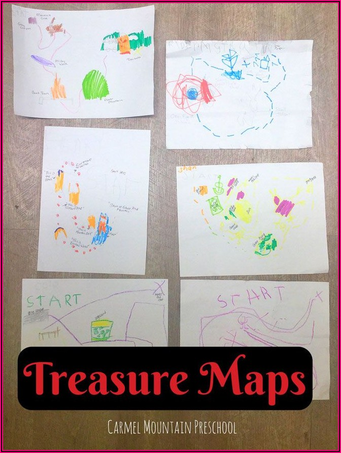 Preschool Activity Maps