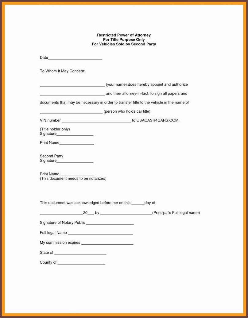 Printable Medical Power Of Attorney Form Alabama