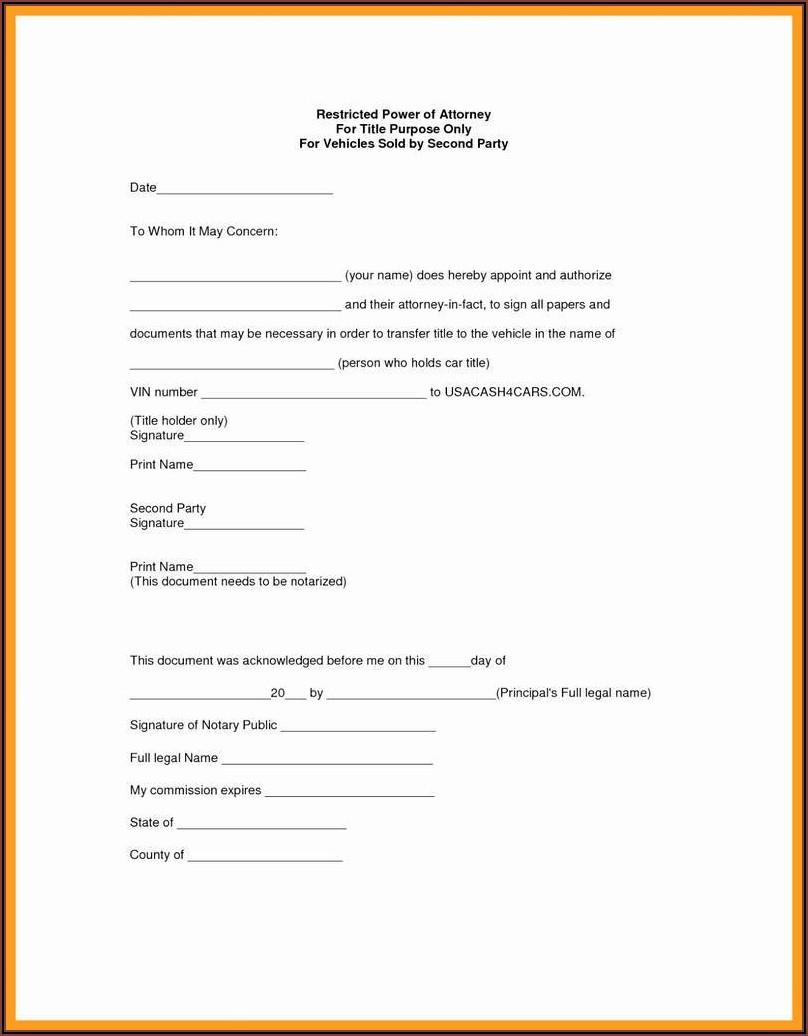 Printable Medical Power Of Attorney Form Alabama