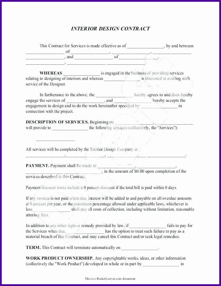 Project Management Contract Agreement Template