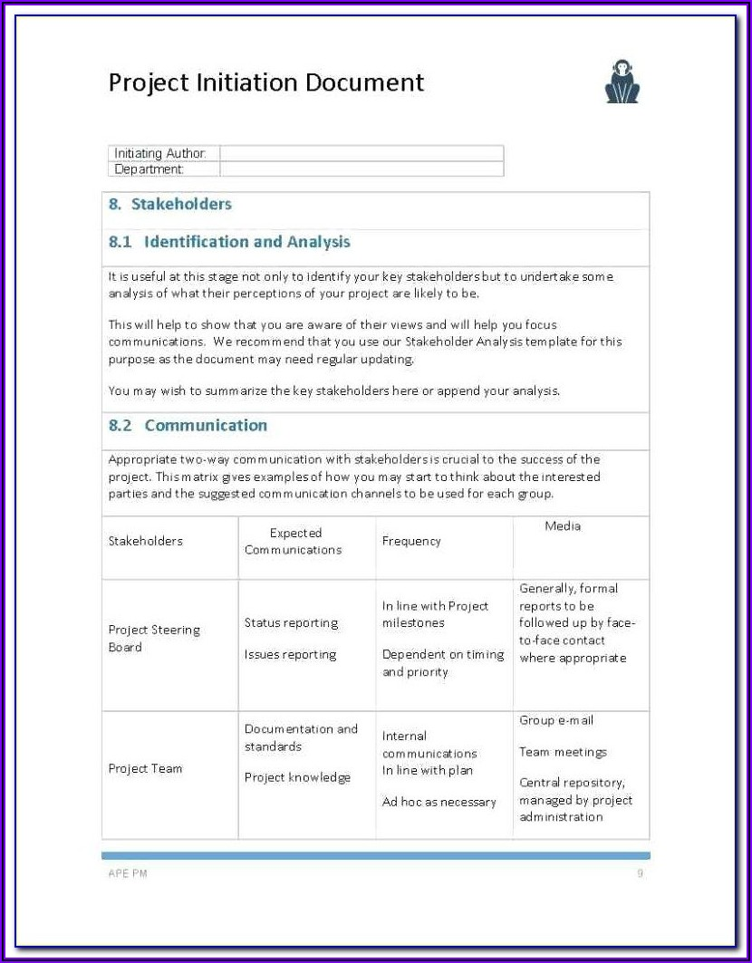 Project Management Contracts Templates