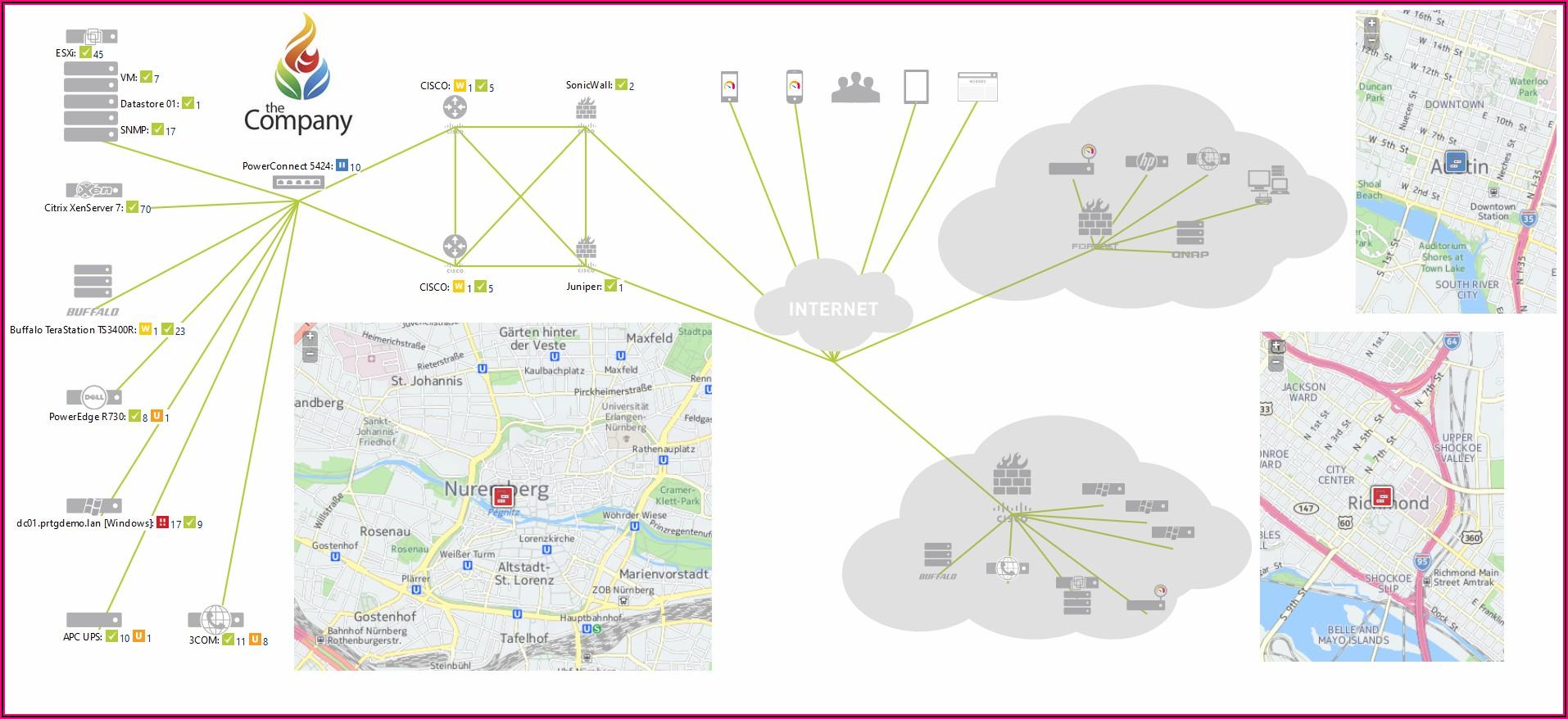Prtg Network Topology Mapper