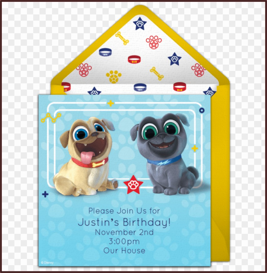 Puppy Dog Pals Invitations Free