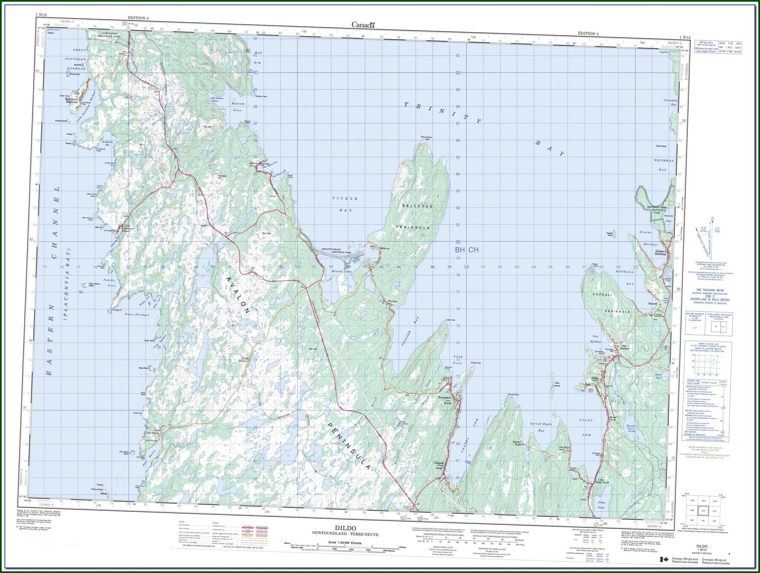 Purchase Topographic Maps Nsw