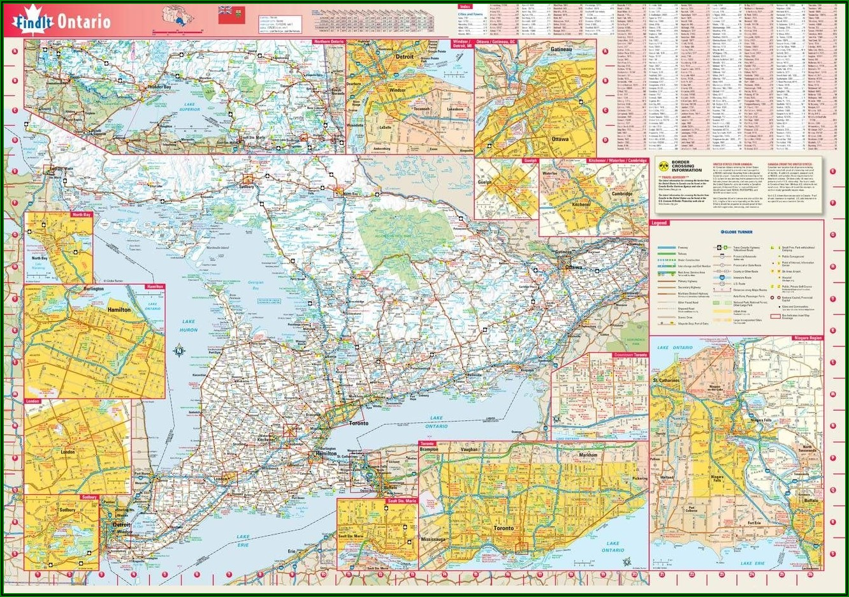 Purchase Topographic Maps Of Ontario