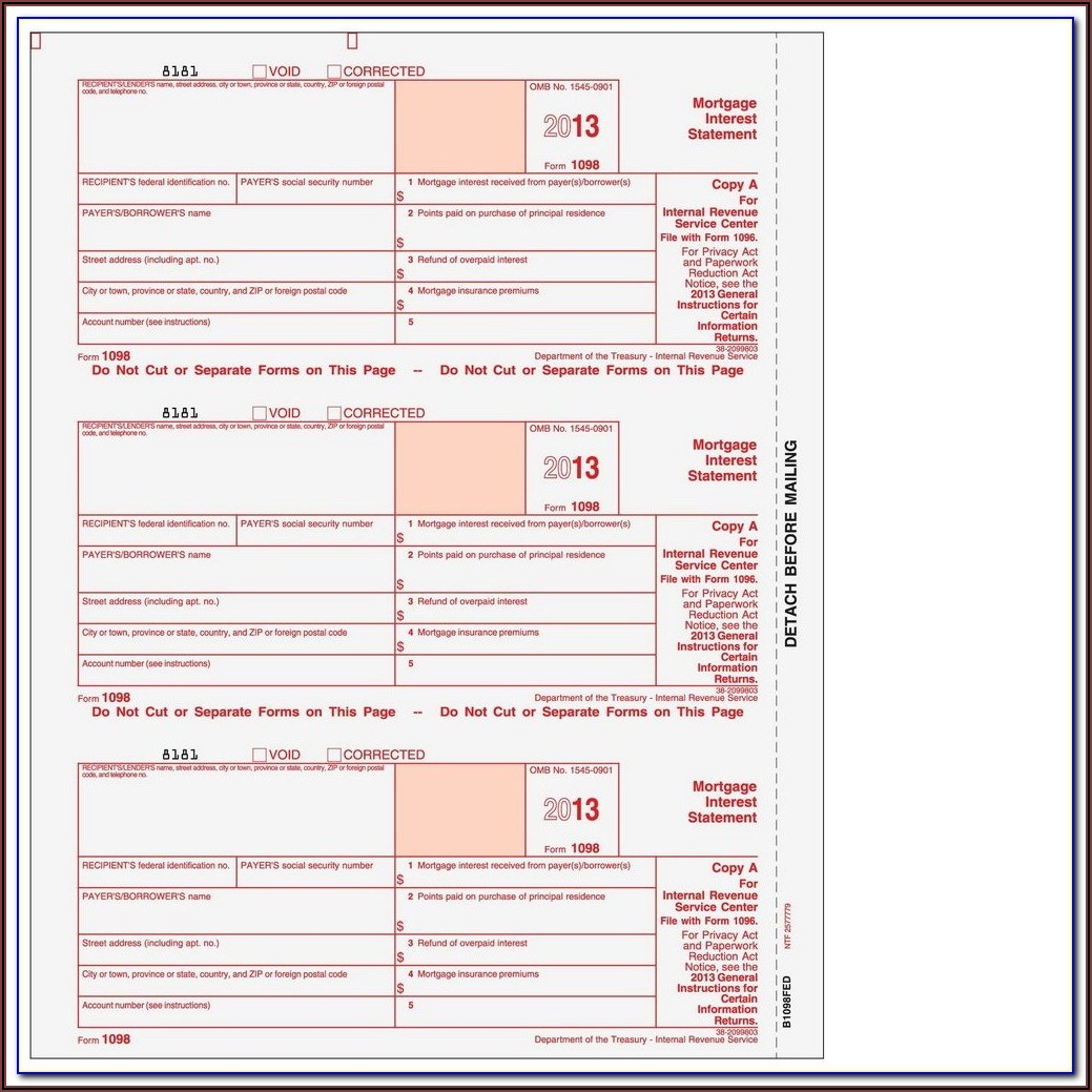 Quickbooks Online Compatible 1099 Forms