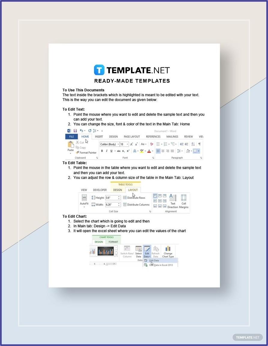 Reimbursement Invoice Template Excel