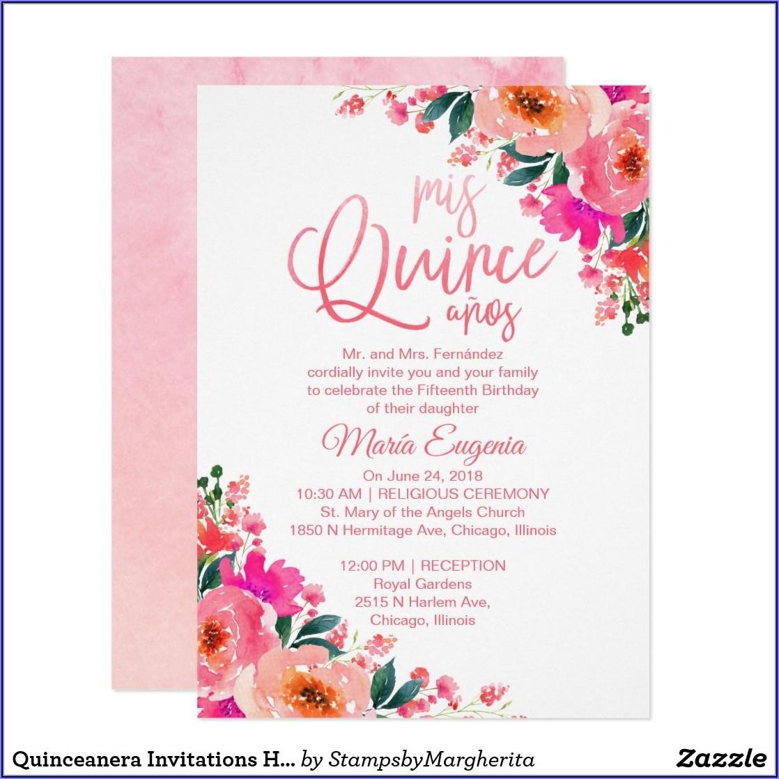 Religious Quinceanera Invitation Wording