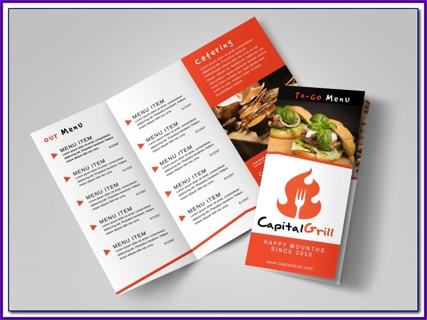 Restaurant Brochure Templates