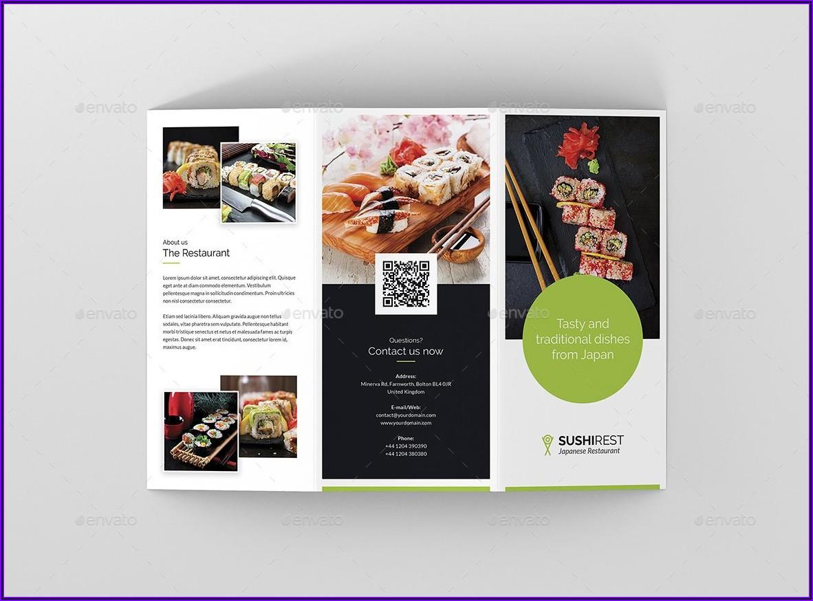 Restaurant Brochures Templates