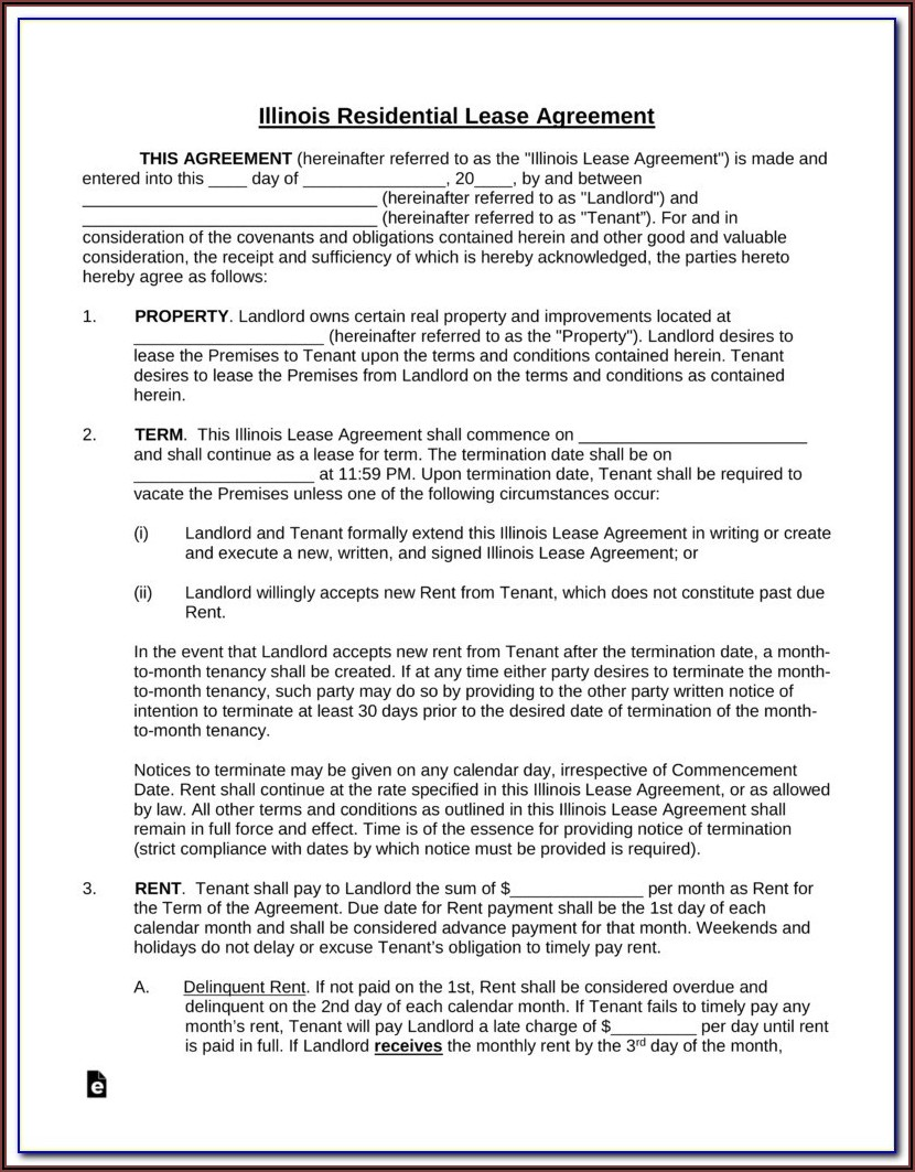Rha Standard Form Apartment Lease Fixed Term