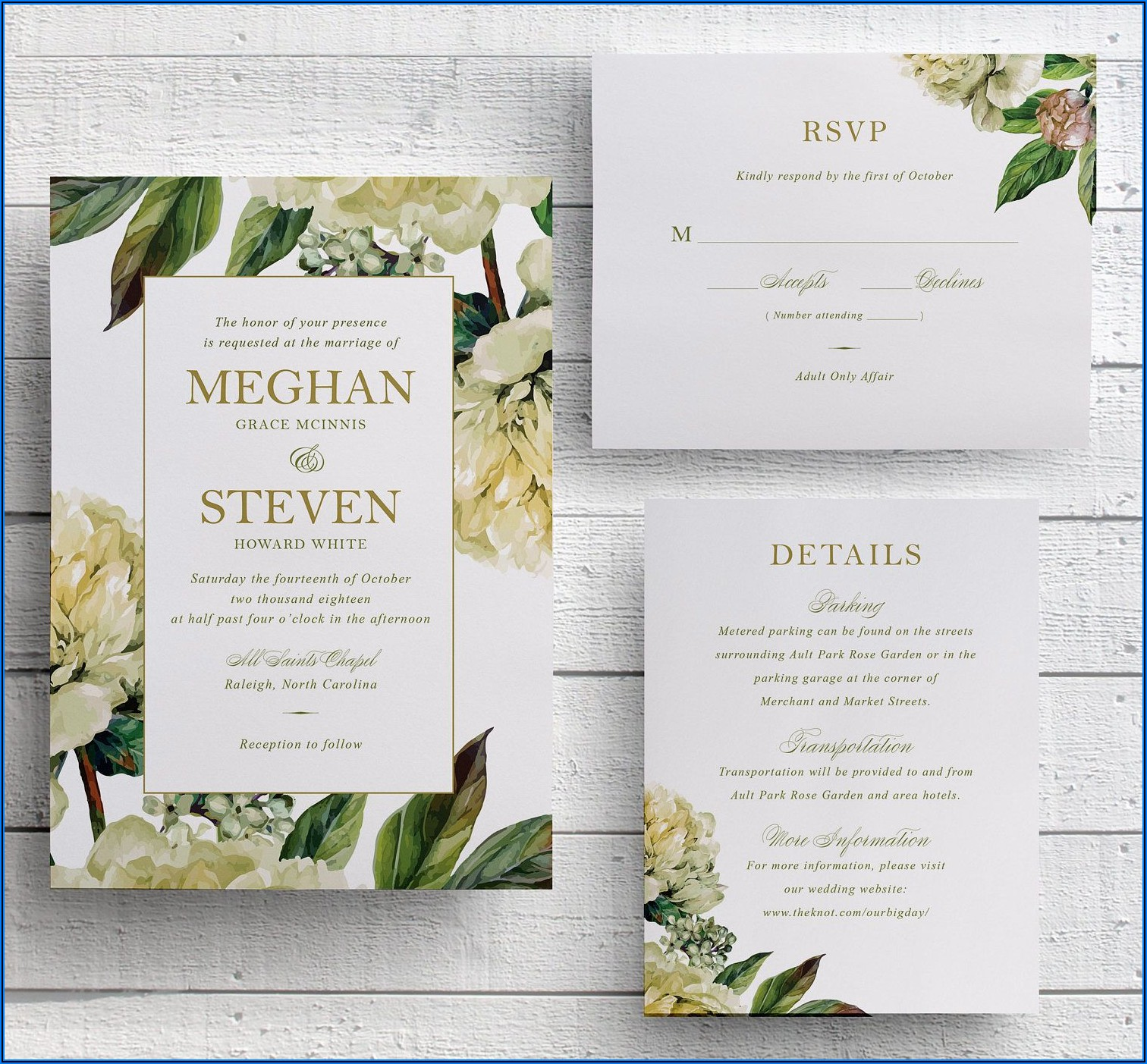 Rose Gold Wedding Invitations Vistaprint