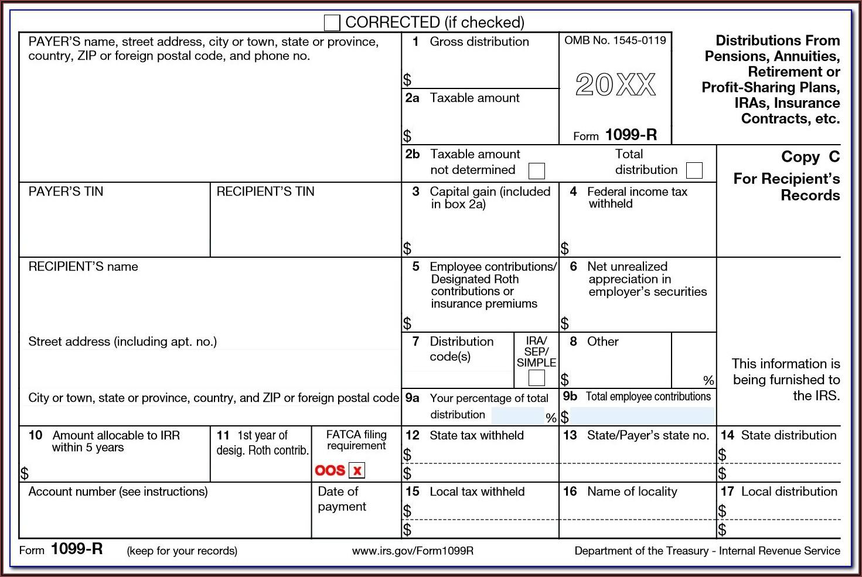 Sample Form 1099
