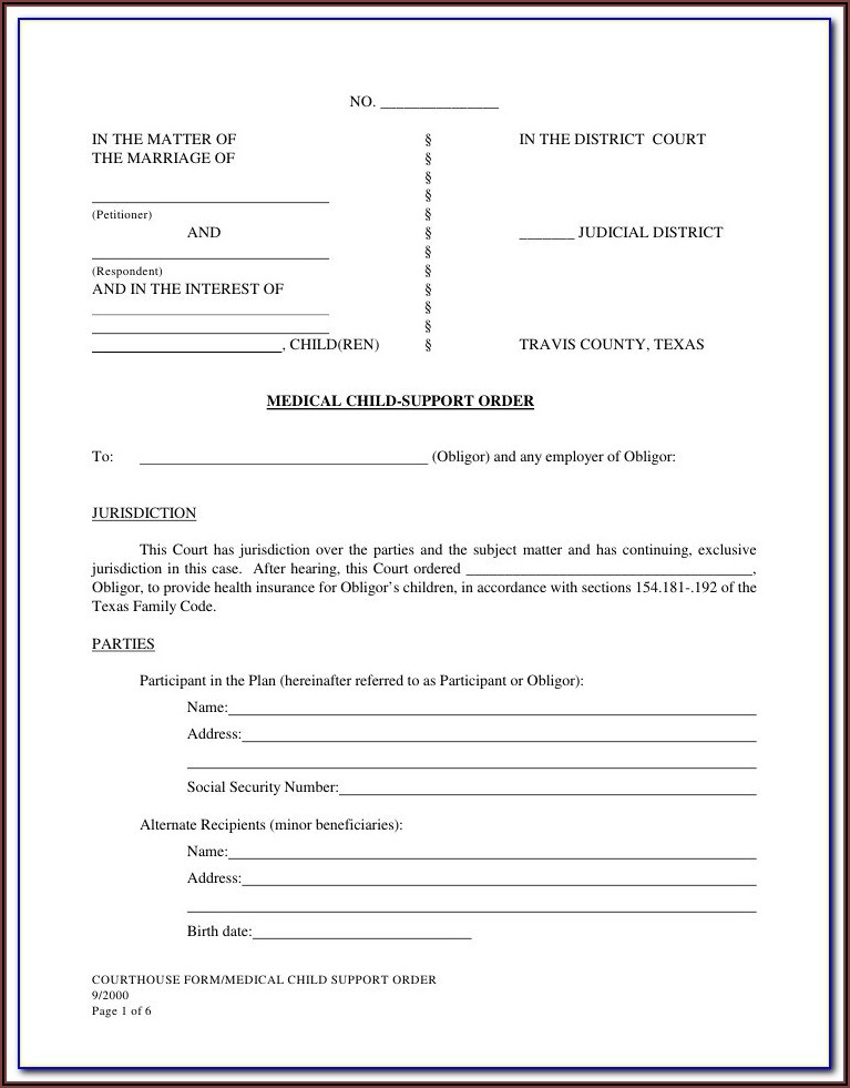 Santa Clara County Probate Court Forms