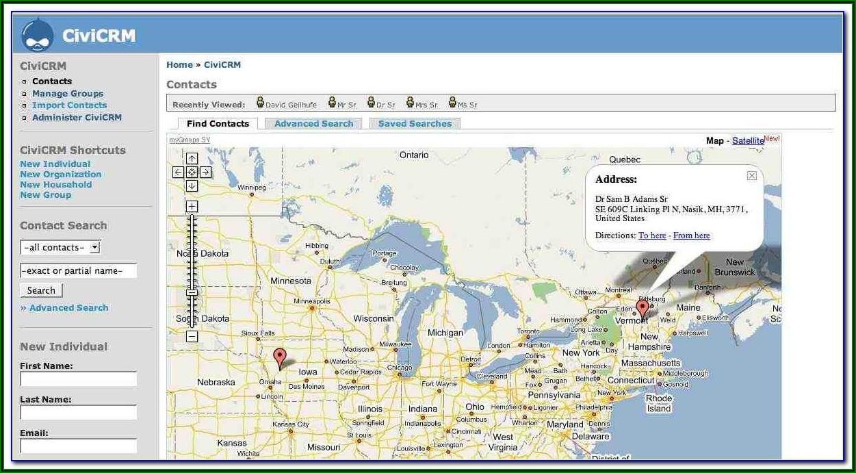 Sap Crm Google Maps Integration