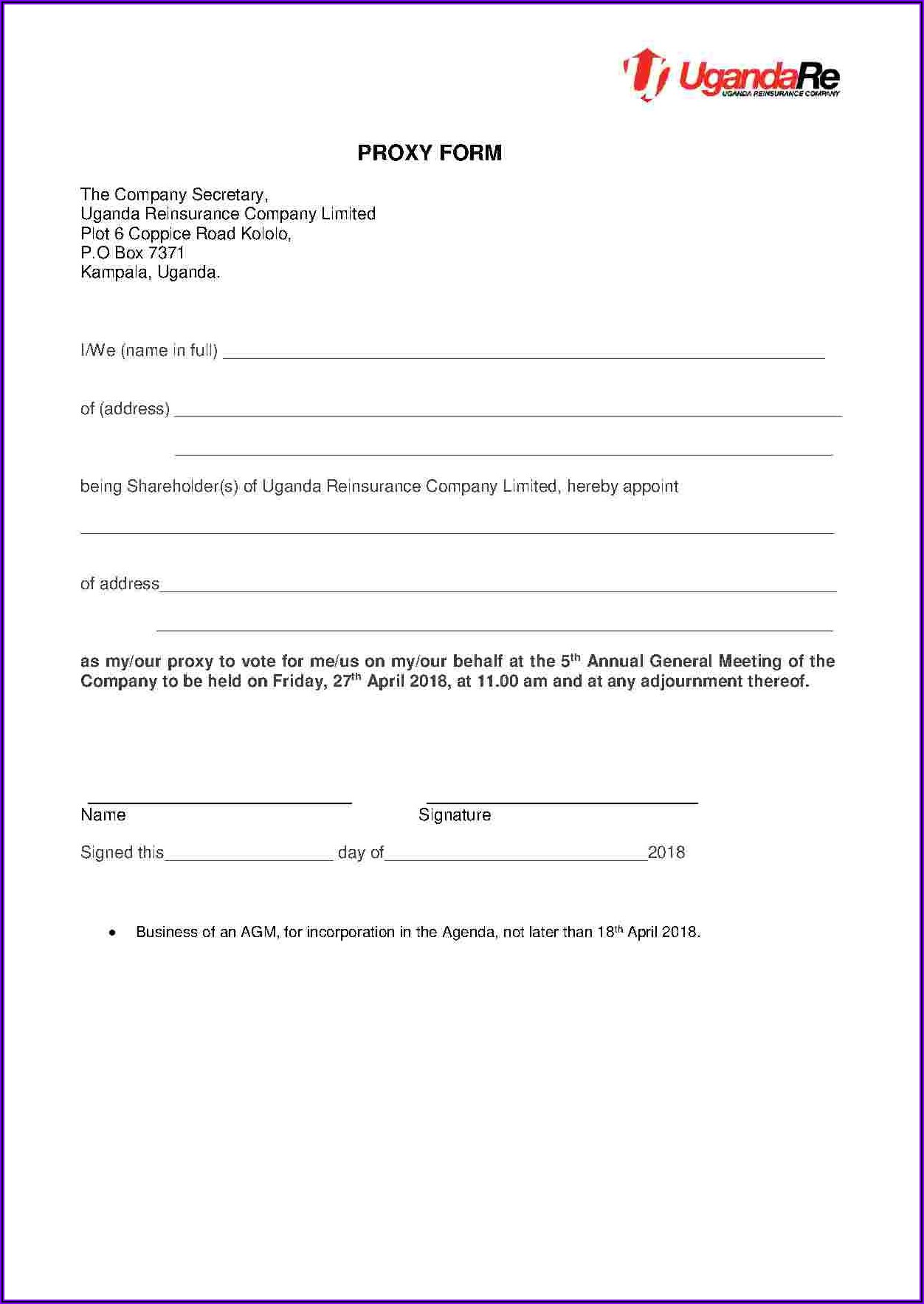 Shareholder Agreement Templates