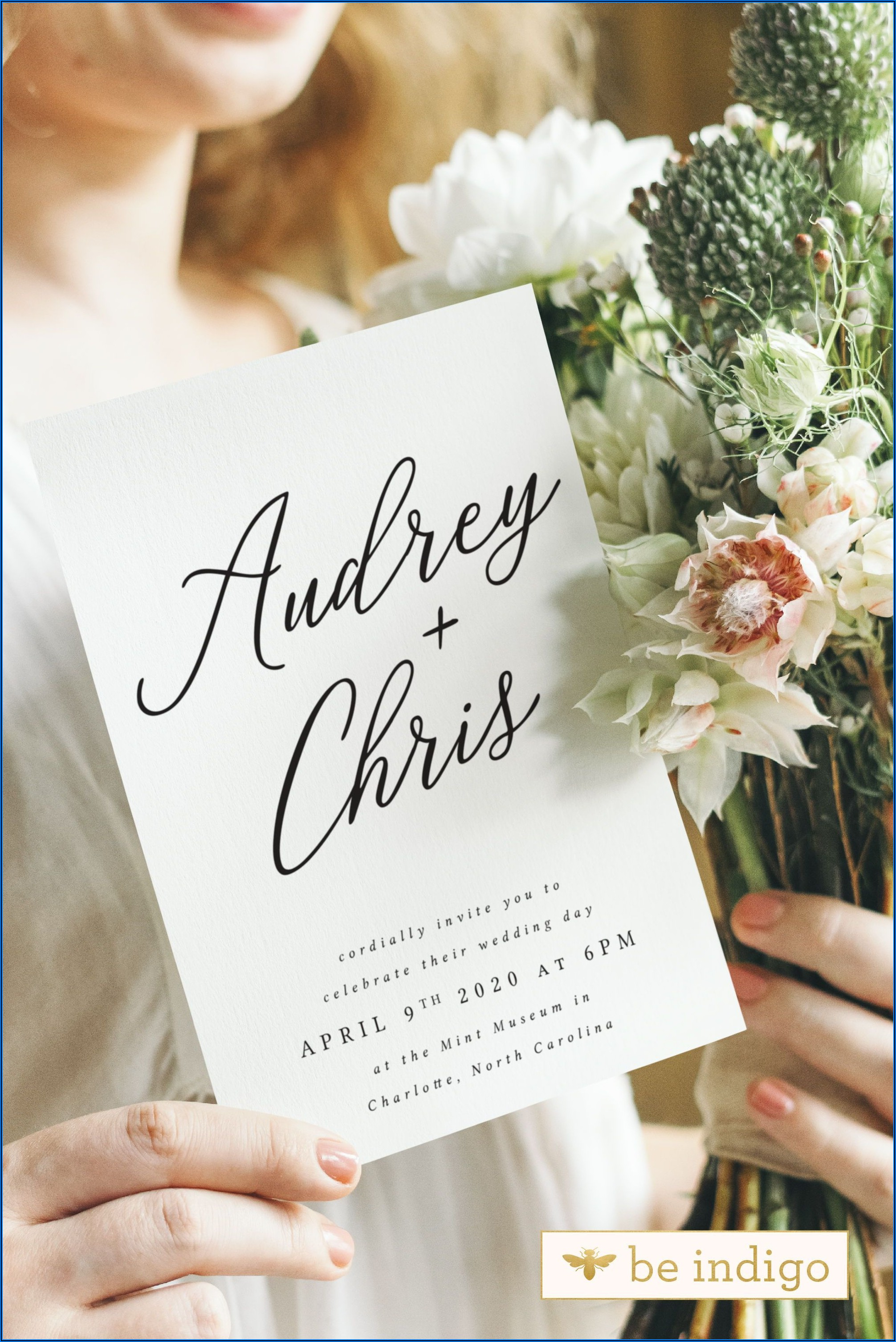 Simple Diy Rustic Wedding Invitations