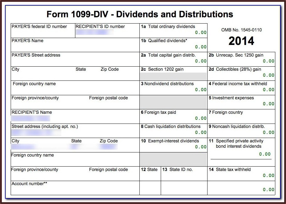 Software To Fill Out 1099 Forms