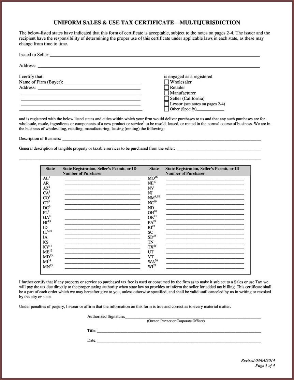 South Carolina State Income Tax Exemption Form
