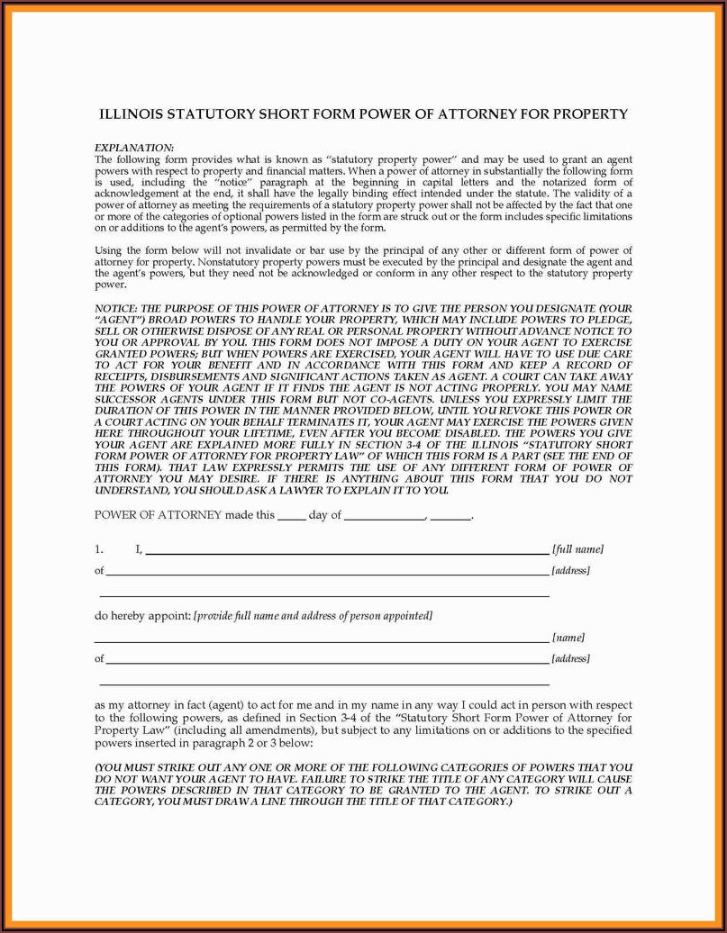 South Dakota Durable Power Of Attorney Form