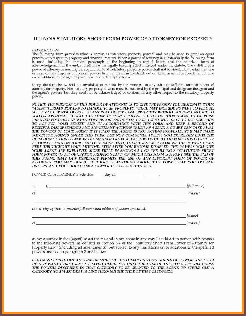 South Dakota Durable Power Of Attorney Form