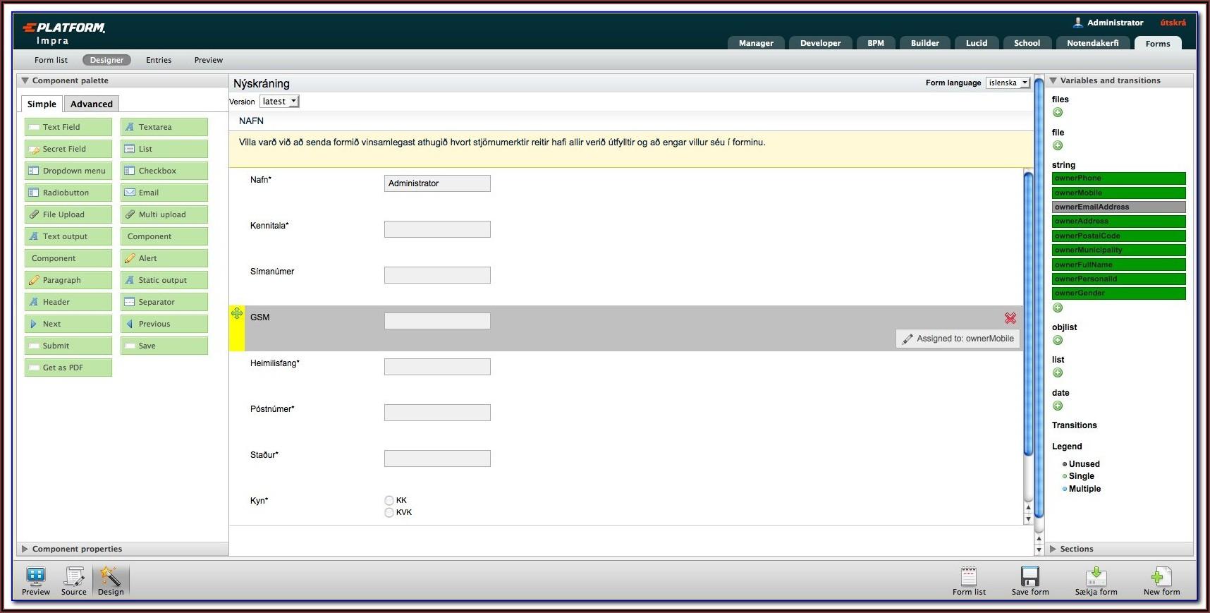 Sql Form Builder Open Source