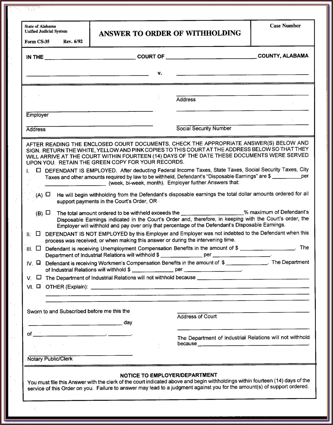 State Of Alabama Guardianship Forms
