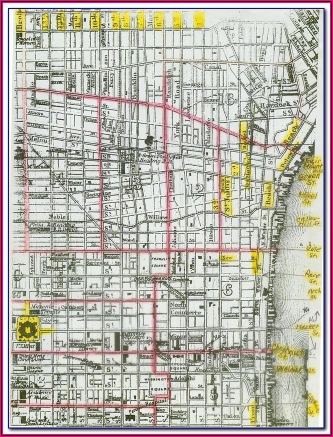 Street Map Of Philadelphia Pa